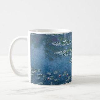Caneca De Café Água Lillies por Claude Monet