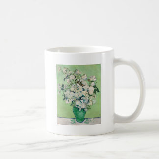 Caneca De Café Ainda vida: Vaso com rosas - Vincent van Gogh