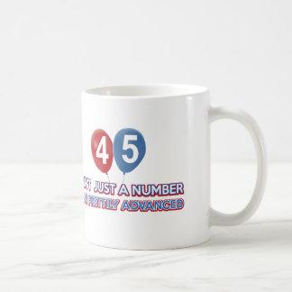 Caneca De Café aint 45 apenas um número