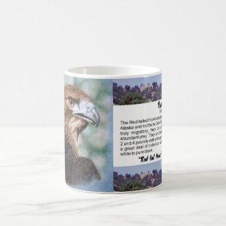 Caneca De Café airbrush do falcão da Vermelho-cauda