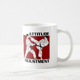 Caneca De Café Ajuste da atitude