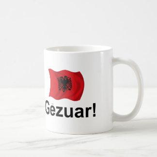 Caneca De Café Albanês Gezuar! (Elogios)