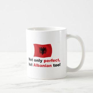 Caneca De Café Albanês perfeito