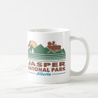 Caneca De Café Alces do parque nacional de jaspe