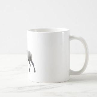 Caneca De Café Alces do veado norte-americano do salgueiro