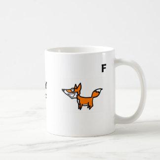 Caneca De Café Alces, Fox, SLYMF, M, F
