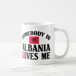 Caneca De Café Alguém em Albânia