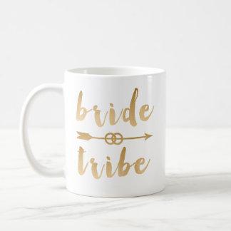 Caneca De Café alianças de casamento elegantes da seta do tribo