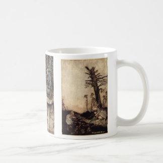 Caneca De Café Alice no copo de café do país das maravilhas