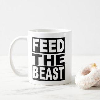 Caneca De Café Alimente o animal