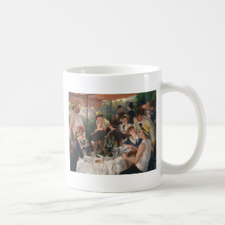Caneca De Café Almoço do partido do barco - Renoir