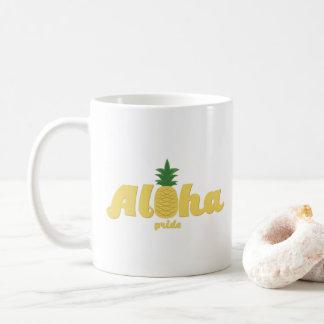Caneca De Café Aloha café do Hawaiian do orgulho