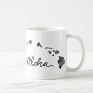 Caneca De Café Aloha ilha afligida
