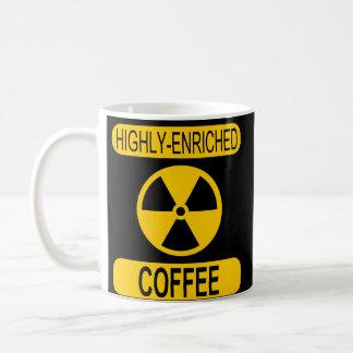 Caneca de café altamente enriquecida