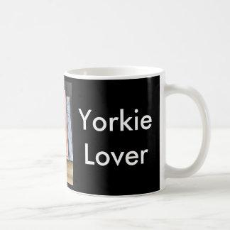 Caneca De Café Amante de Yorkie