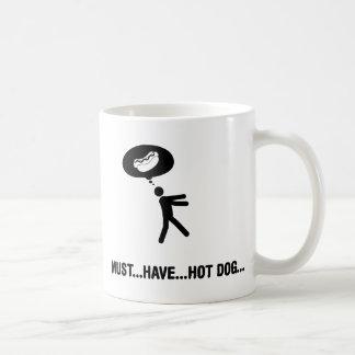 Caneca De Café Amante do cachorro quente