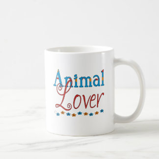 Caneca De Café Amante dos animais (vermelho/azul)