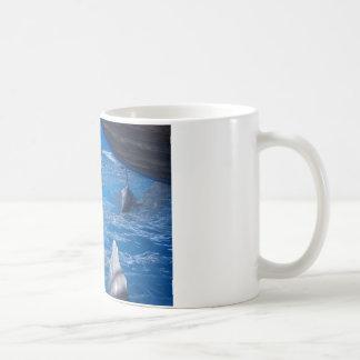 Caneca De Café Amantes dos golfinhos
