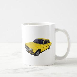 Caneca De Café Amarelo da porta de Toyota Corolla DX KE70 4