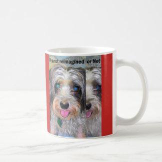 Caneca De Café amendoim o cão do salvamento