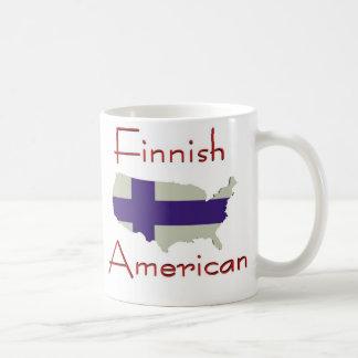 Caneca De Café Americano de Finniah (mapa dos EUA)