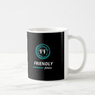 Caneca de café amigável do criminoso