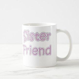 Caneca De Café Amigo da irmã