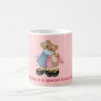 Caneca De Café Amigos 1 do urso - a amizade é