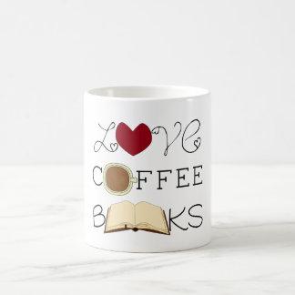 Caneca De Café Amor, café, livros
