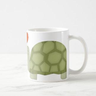 Caneca De Café Amor da tartaruga