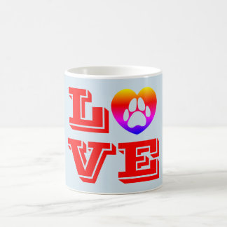 Caneca De Café Amor de filhote de cachorro