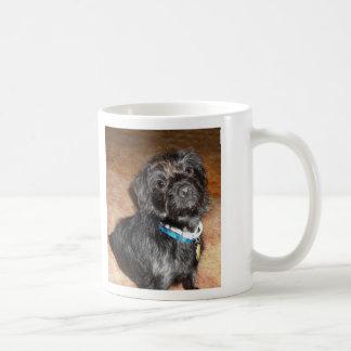 Caneca De Café Amor de filhote de cachorro de Terry
