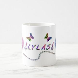 Caneca De Café Amor de LYLAS você gosta de uma irmã
