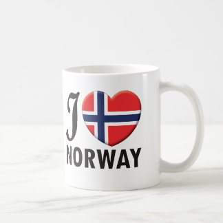 Caneca De Café Amor de Noruega
