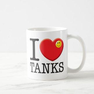 Caneca De Café Amor dos tanques