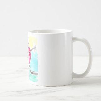 Caneca De Café amor e alegria para você