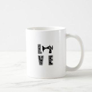 Caneca De Café amor para sewing