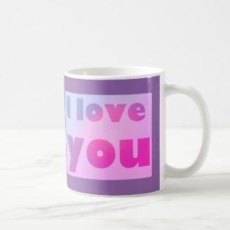 Caneca De Café Amor roxo