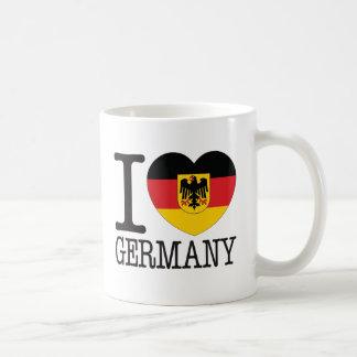 Caneca De Café Amor v2 de Alemanha B