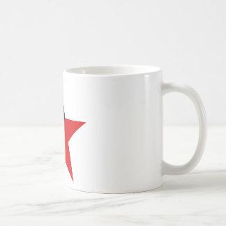 Caneca De Café Anarquismo preto e vermelho do