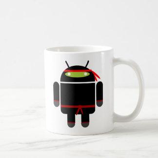 Caneca De Café Android Ninja