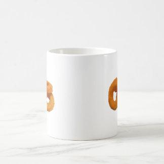 Caneca De Café Anéis de cebola da comida do pulso aleatório