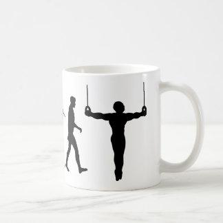 Caneca De Café Anéis ginásticos do Gymnast