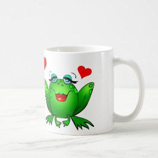 Caneca De Café Animais bonitos felizes dos desenhos animados dos