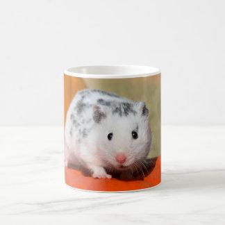 Caneca De Café Animal de estimação engraçado manchado do hamster
