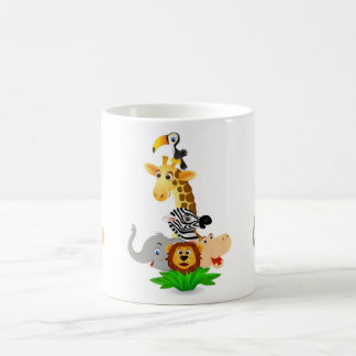 Caneca De Café Animal do safari