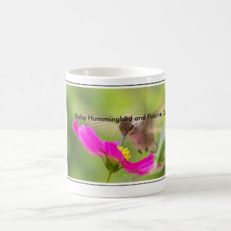 Caneca De Café Animal dos animais selvagens do pássaro do colibri