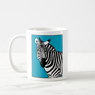 Caneca De Café Animal legal da zebra
