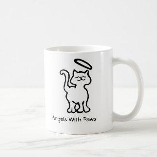 Caneca De Café Anjos com patas