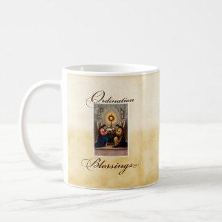 Caneca De Café Anjos dos parabéns da classificação no altar